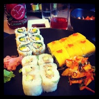 Photo taken at Sushi Shop by Vanessa T. on 9/1/2012