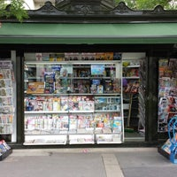 Photo taken at Kiosque à journaux cergy le haut by David V. on 6/29/2013