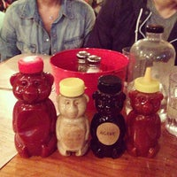 Photo taken at Bareburger by Gloria C. on 6/11/2013