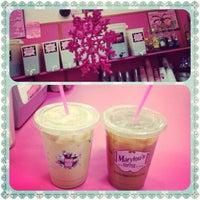 Photo taken at Marylou's Coffee by Gloria C. on 11/28/2012