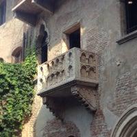 Das Foto wurde bei Casa di Giulietta von Alberto L. am 7/10/2013 aufgenommen