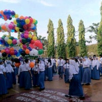 Photo taken at SMA Negeri 1 Surabaya by danang f. on 4/1/2014