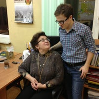 Photo taken at Академическая гимназия № 1534 (1) by Diana M. on 2/9/2013