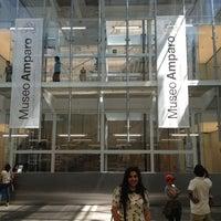 Photo taken at Museo Amparo by Atziyade O. on 3/24/2013