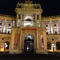 Photo taken at Hofburg by Мария С. on 4/17/2013