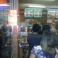 Photo taken at Subway by Rud Patrick d. on 10/28/2012