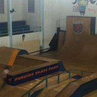 Photo taken at Peruibe Skate Park by Rogério H. on 10/13/2012