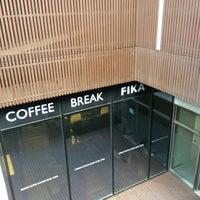 Photo taken at FIKA Swedish Coffee Break by KM L. on 7/6/2015