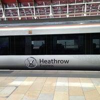 Photo taken at Heathrow Express Train - Paddington [PAD] to Heathrow [HXX] by audidriven n. on 6/5/2013