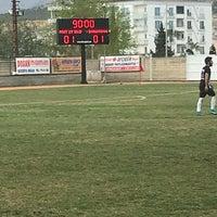 Photo taken at Mut İlçe Stadyumu by Ali D. on 3/25/2018