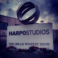 Photo taken at Harpo Studios by Noj Otsëit A. on 4/27/2014