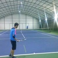 Photo taken at DSİ Tenis Kortları by anil a. on 10/23/2013