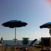 Photo taken at Spiaggia Stella Polare by Aroti M. on 6/17/2013