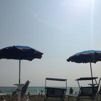 Photo taken at Spiaggia Stella Polare by Aroti M. on 7/14/2013