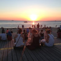 Photo taken at St Kilda Beach by Roger T. on 2/17/2013