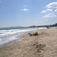Photo taken at İğneada Plajı by Ayşegül on 8/11/2013