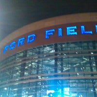Photo taken at Ford Field by Jeff M. on 12/23/2012