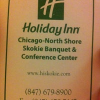 Photo taken at Holiday Inn Chicago North Shore (Skokie) by Altan E. on 3/4/2013