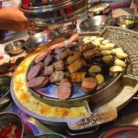 Foto tomada en Mapogalmaegi Korean BBQ por Cecillia Y. el 12/12/2015