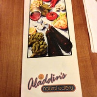 Photo taken at Aladdin's Natural Eatery by Russell H. on 1/16/2013