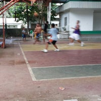Photo taken at plaza basketball court by nazar c. on 8/3/2013