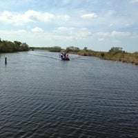 Photo taken at Everglades Private Airboat Tours by CAPT MITCH's - EVERGLADES PRIVATE AIRBOAT TOURS c. on 4/3/2013