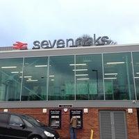 Photo taken at Sevenoaks Railway Station (SEV) by Paul on 1/5/2013