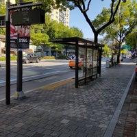 Photo taken at 광림교회 버스정류장 (ID : 23-103) by Yongseok G. on 10/2/2017
