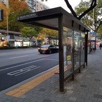 Photo taken at 광림교회 버스정류장 (ID : 23-103) by Yongseok G. on 11/9/2017