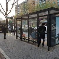 Photo taken at 광림교회 버스정류장 (ID : 23-103) by Yongseok G. on 4/4/2018