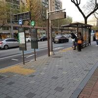 Photo taken at 광림교회 버스정류장 (ID : 23-103) by Yongseok G. on 4/6/2018