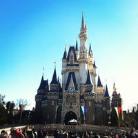 Photo taken at Cinderella Castle by Chieko K. on 1/4/2013
