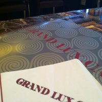 Photo taken at Grand Lux Café by Kris C. on 9/27/2012