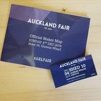 Photo taken at Auckland Art Fair by Bevan C. on 12/3/2016