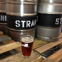 Photo taken at Strand Brewing by Dan T. on 2/24/2013