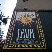 Photo taken at Java on Sherman by Grove A. on 5/8/2014