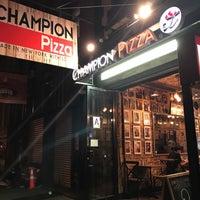 Photo taken at Champion Pizza Soho by Mehmet Ç. on 6/29/2017