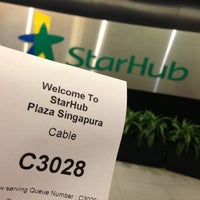 Photo taken at StarHub Shop (Mobile) by Sascha R. on 6/6/2013