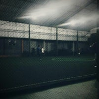 Photo taken at Galaxy Futsal Center by Fahri F. on 8/30/2013