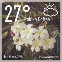 Photo taken at Rabika Coffee by Mon A. on 4/24/2013