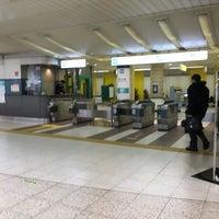 Photo taken at Namboku Line Komagome Station (N14) by Chie on 3/20/2018
