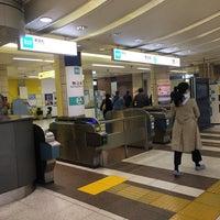 Photo taken at Namboku Line Komagome Station (N14) by Chie on 3/22/2018