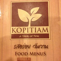 Photo taken at Kopitiam by poonpit P. on 12/22/2012
