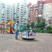 Photo taken at Детская площадка by Кэт on 5/31/2014