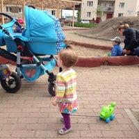 Photo taken at Детская площадка by Кэт on 6/1/2014