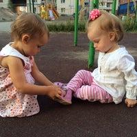 Photo taken at Детская площадка by Кэт on 7/28/2014