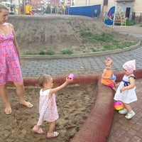 Photo taken at Детская площадка by Кэт on 7/14/2014