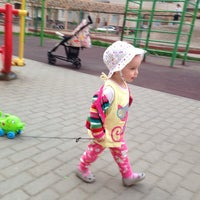 Photo taken at Детская площадка by Кэт on 5/25/2014