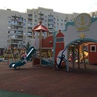 Photo taken at Детская площадка by Кэт on 7/11/2016