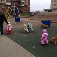 Photo taken at Детская площадка by Кэт on 2/28/2014